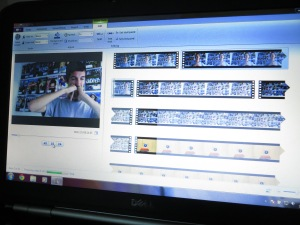 Editing my Austin Film Society Internship Application Video